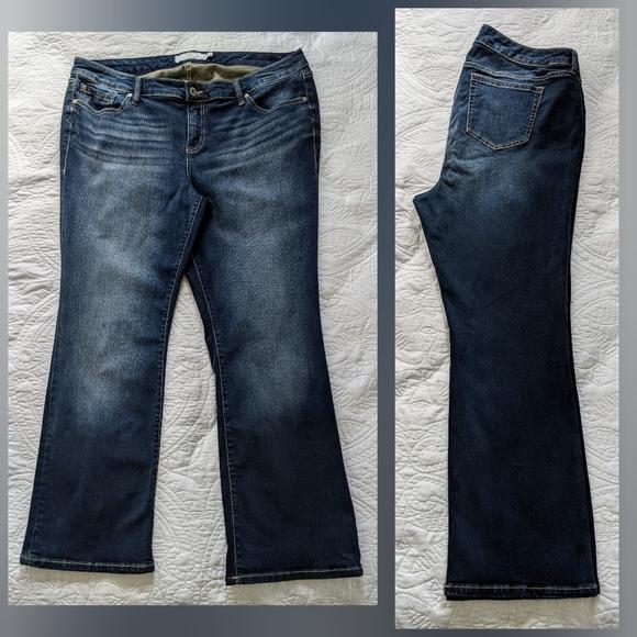 SOLD Torrid | Dark Wash Bootcut Jeans | 20 Short